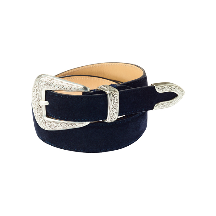 303 leather - Navy