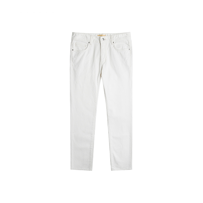T-1 Okayama Selvedge One Washed Jeans - White