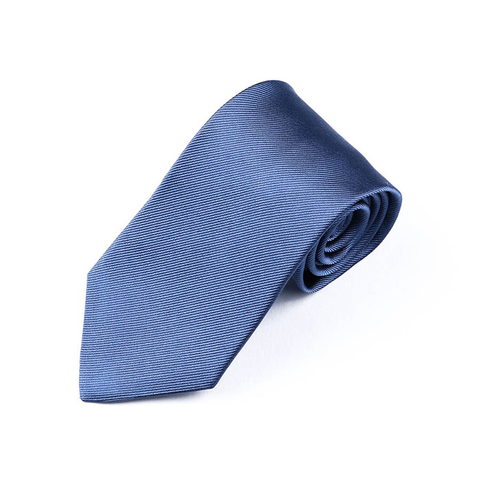 Solid Twill Tie - Skyblue
