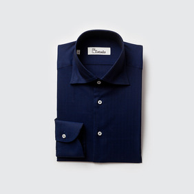 Cotton Shirts - Navy