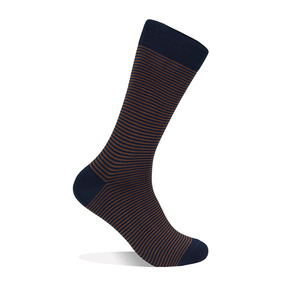 Striped Socks - Brown