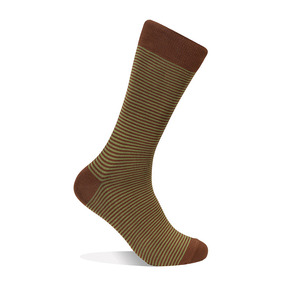 Striped Socks - Olive