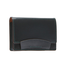 Bridle Leather Card case - Dark Green