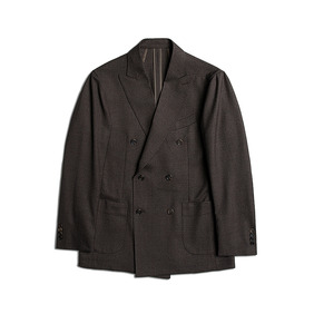 Reda Wool Double Jacket - Brown