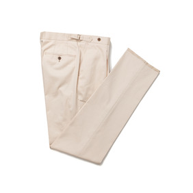 Dugdale Cotton Pants - Beige