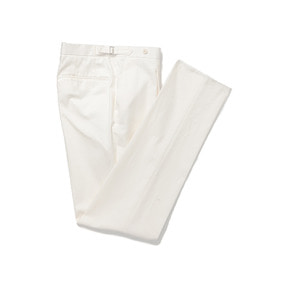 Dugdale Cotton Pants - White