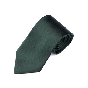 Solid Twill Tie - Green