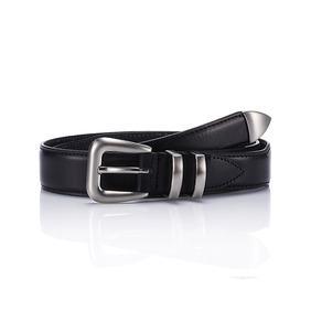 106 Leather Belt - Black