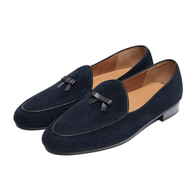 Belgian Loafer - Dark Navy
