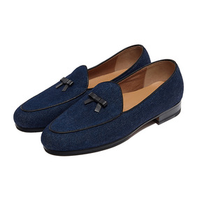Belgian Loafer - Denim