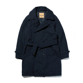 Warming Robe Padding Coat - Navy