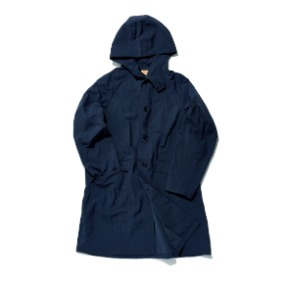 Hylon Overcoat - Navy